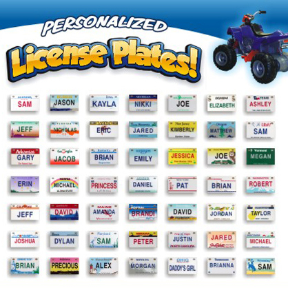 Bicycle License Plates