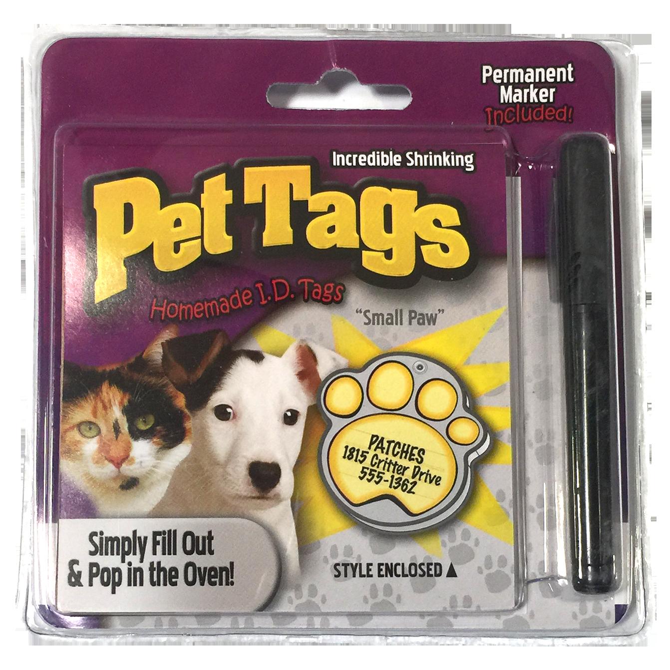Pet Tag Paw